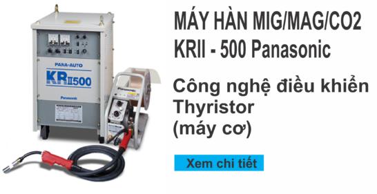 Máy hàn Mig KRII-500 Panasonic