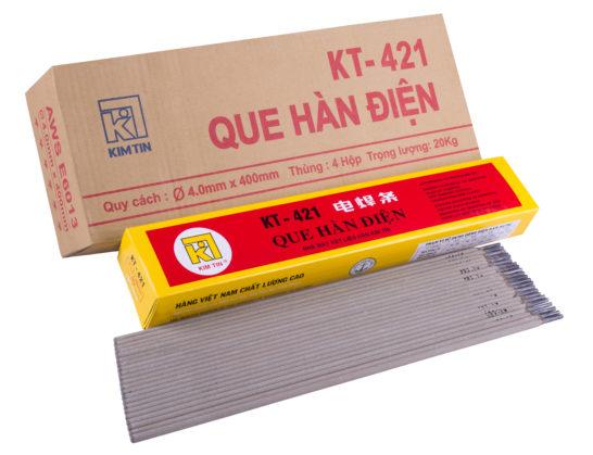 QUE HÀN THÉP CARBON THẤP KT- 421
