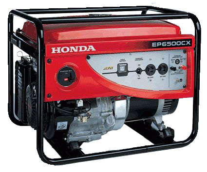 Máy phát điện Honda EP6500CX giật nổ